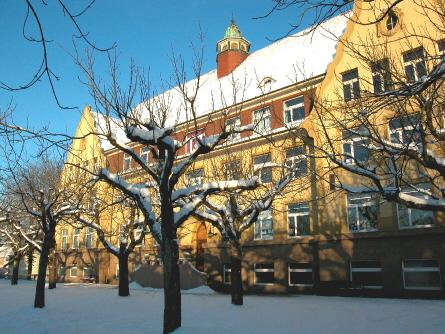 Der Altbau der Murgtalschule (Grundschulgebäude)