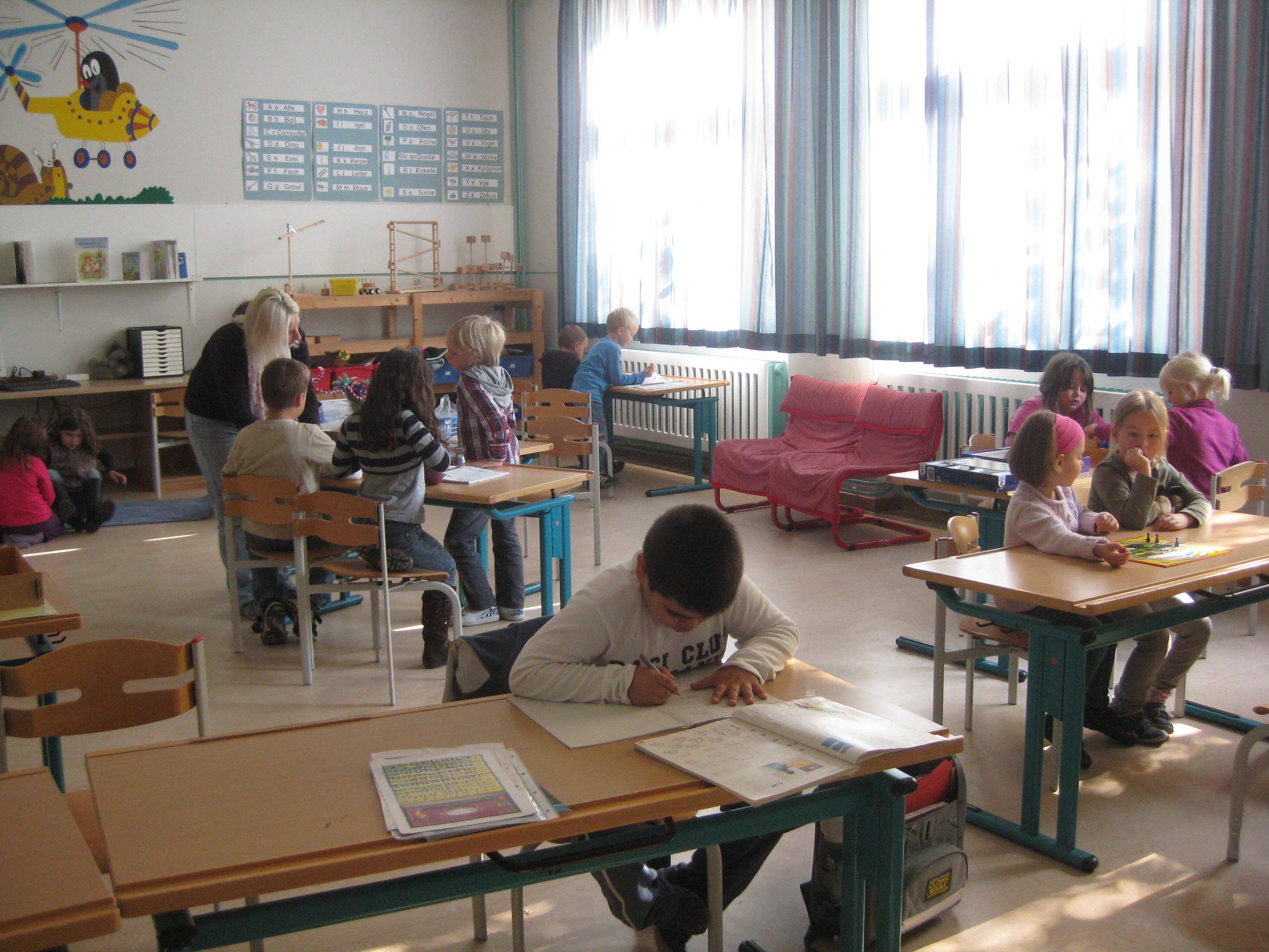 Betreuungsangebot der Verlässlichen Grundschule